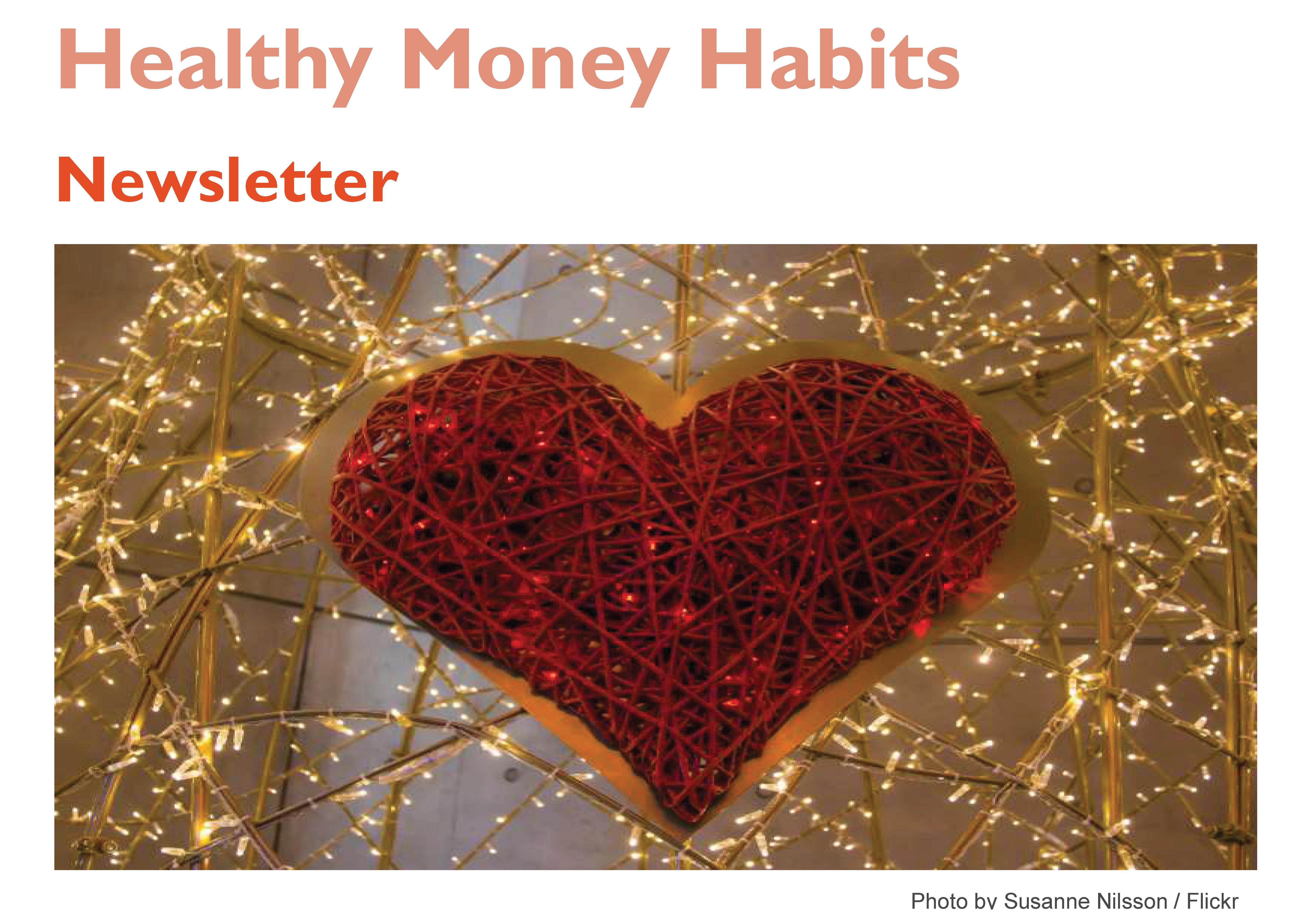 Healthy Money Habits – February Newsletter